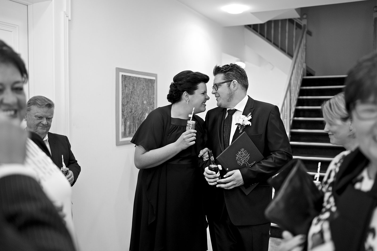 Brautpaar im Standesamt Laatzen